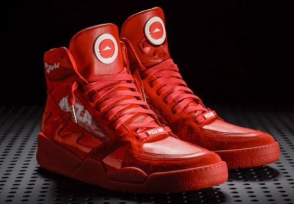 必胜客推出的篮球鞋又增加了新玩法
