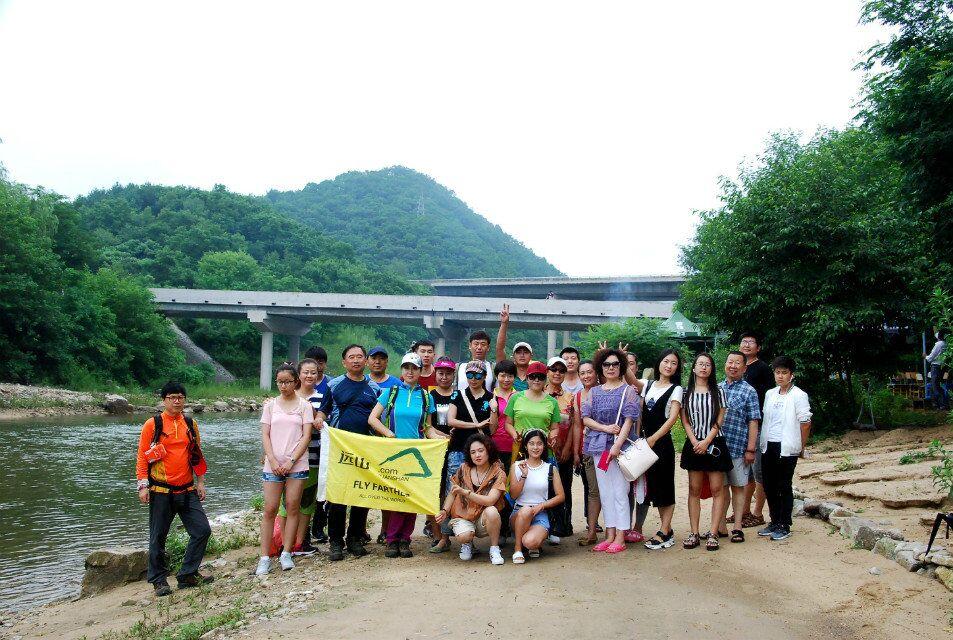 2016.7.31(周日)宽甸龙韵湾漂流一日游。