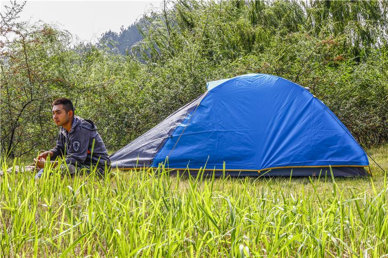 爱享自由——Track Man 自由人伊塔1单人铝杆帐篷测评